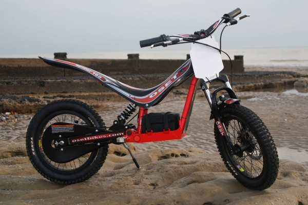 Oset electric kids trials bike road and track motorcyles
